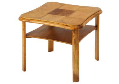stolik z intarsją