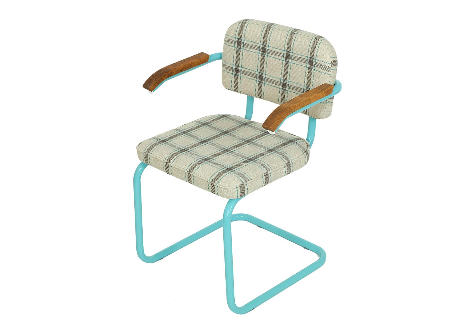 Krzesło konferencyjne SYLWIA z lat 90. Mint