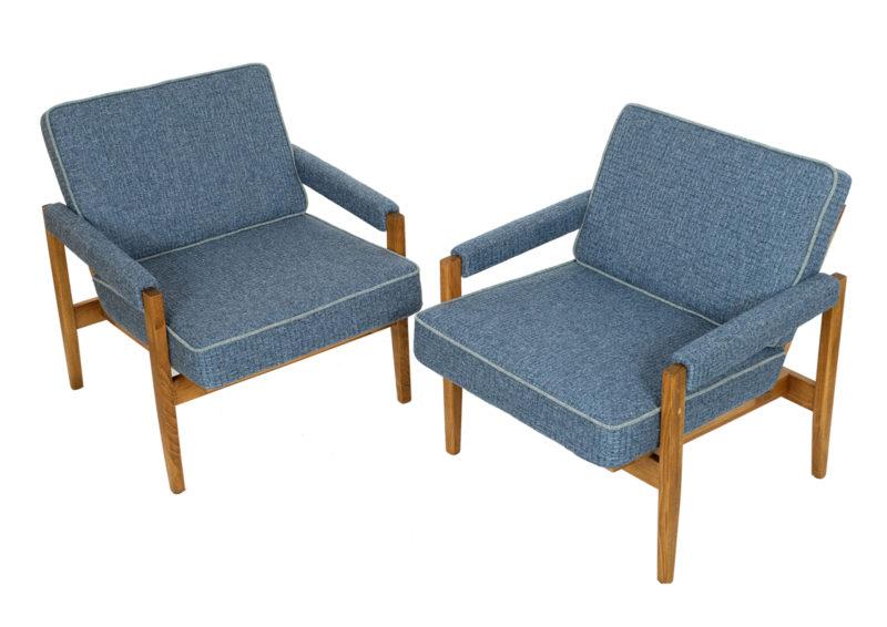 fotele prl po renowacji