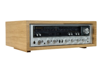 Kenwood KR 6600. Oak Wood Case.