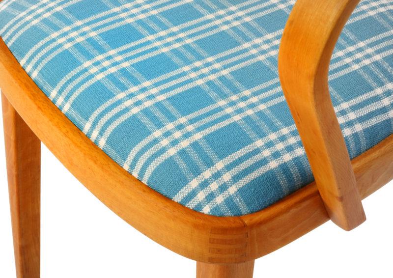 krzesła art deco po renowacji