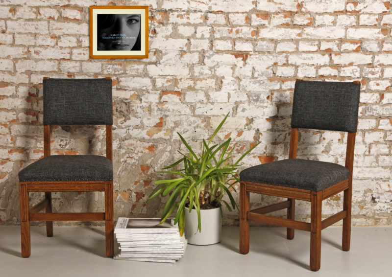 komplet holenderskich krzeseł po renowacji