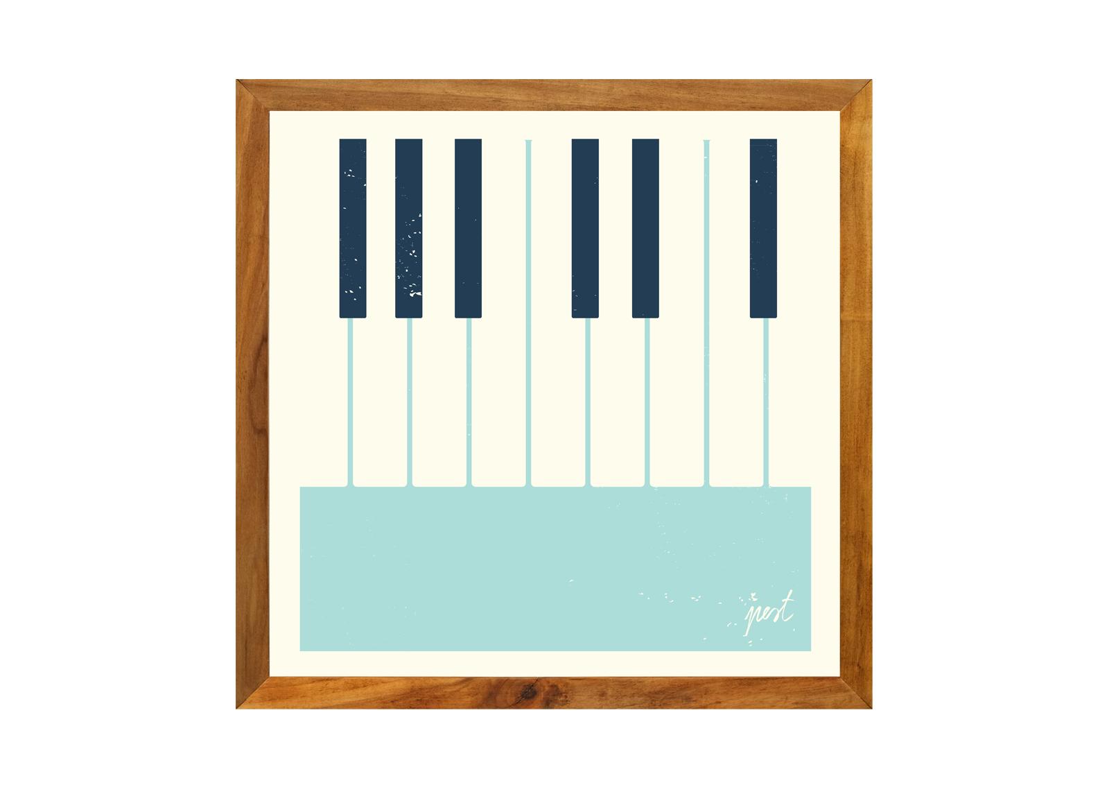 Plakat Pest Piano