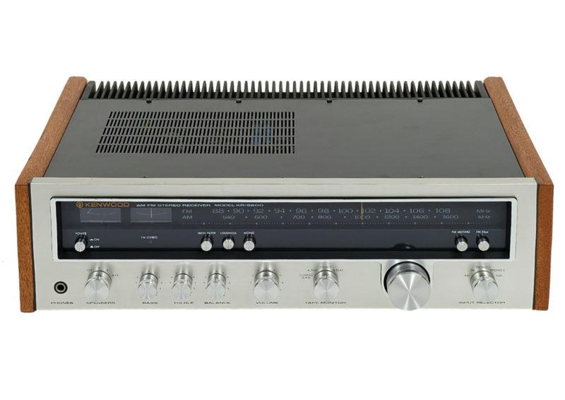 Amplituner Kenwood. Classic Vintage.