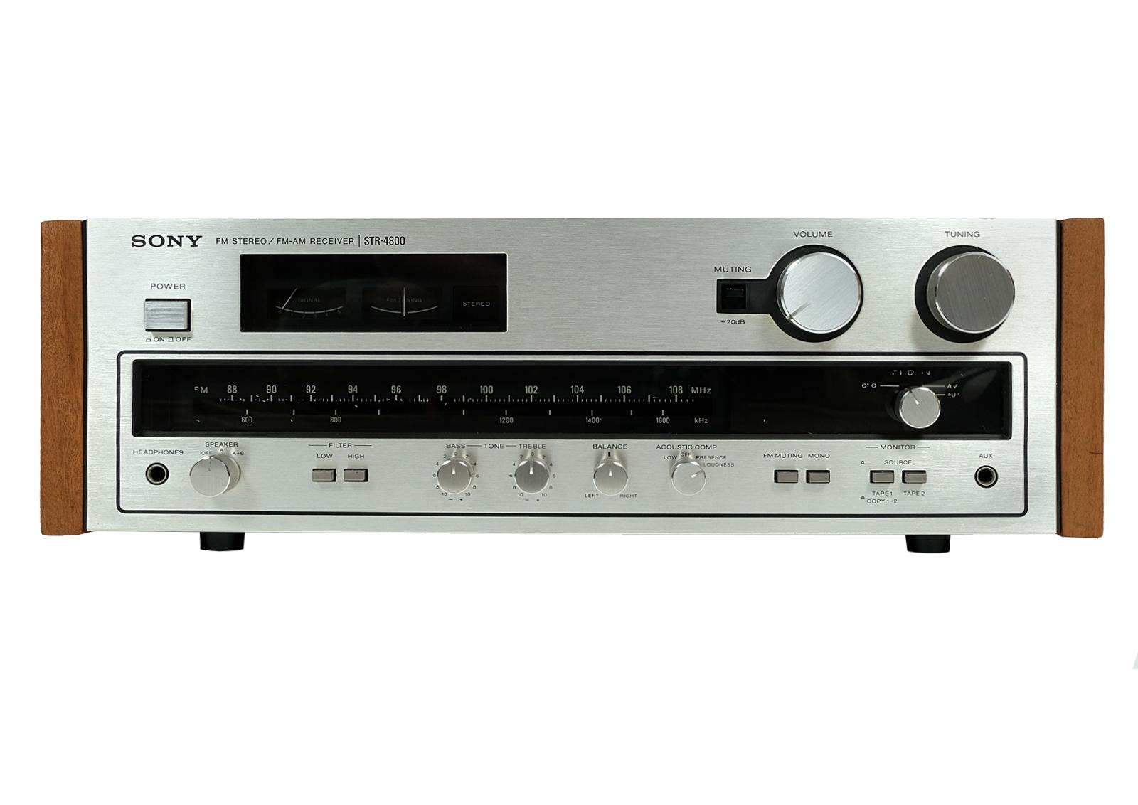 Amplituner Sony STR 4800 po renowacji