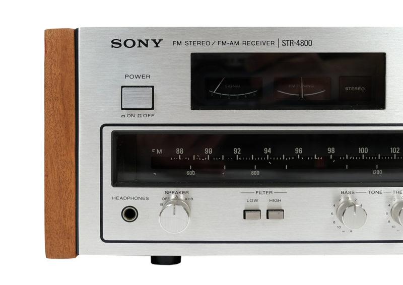 Amplituner Sony STR po renowacji
