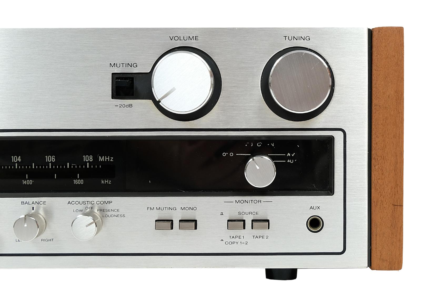 Amplituner Sony po renowacji
