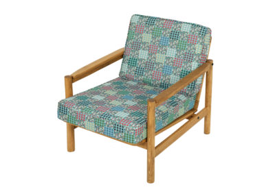 Armchair PRL type B-8502 from the 70s.