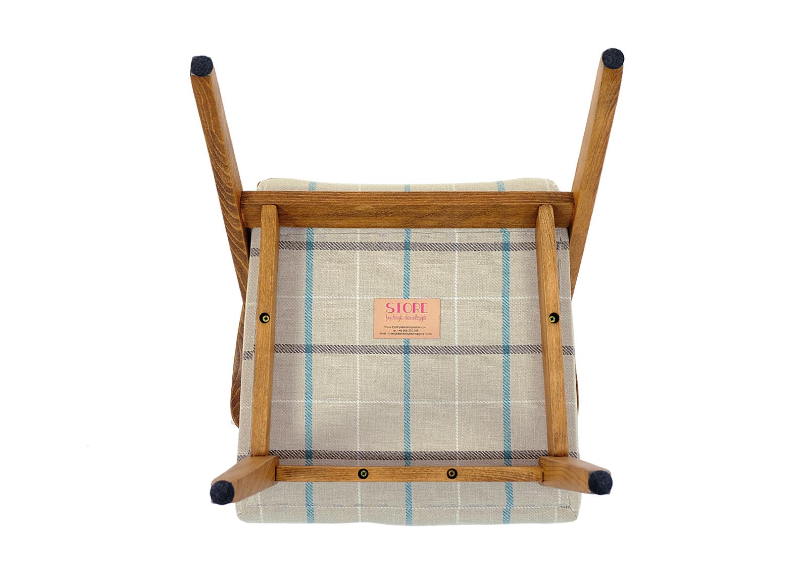 fotel prl po renowacji