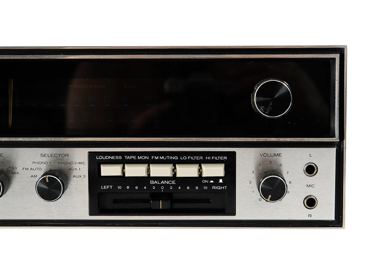 Kenwood TRIO KR 5150. Kenwood po renowacji.