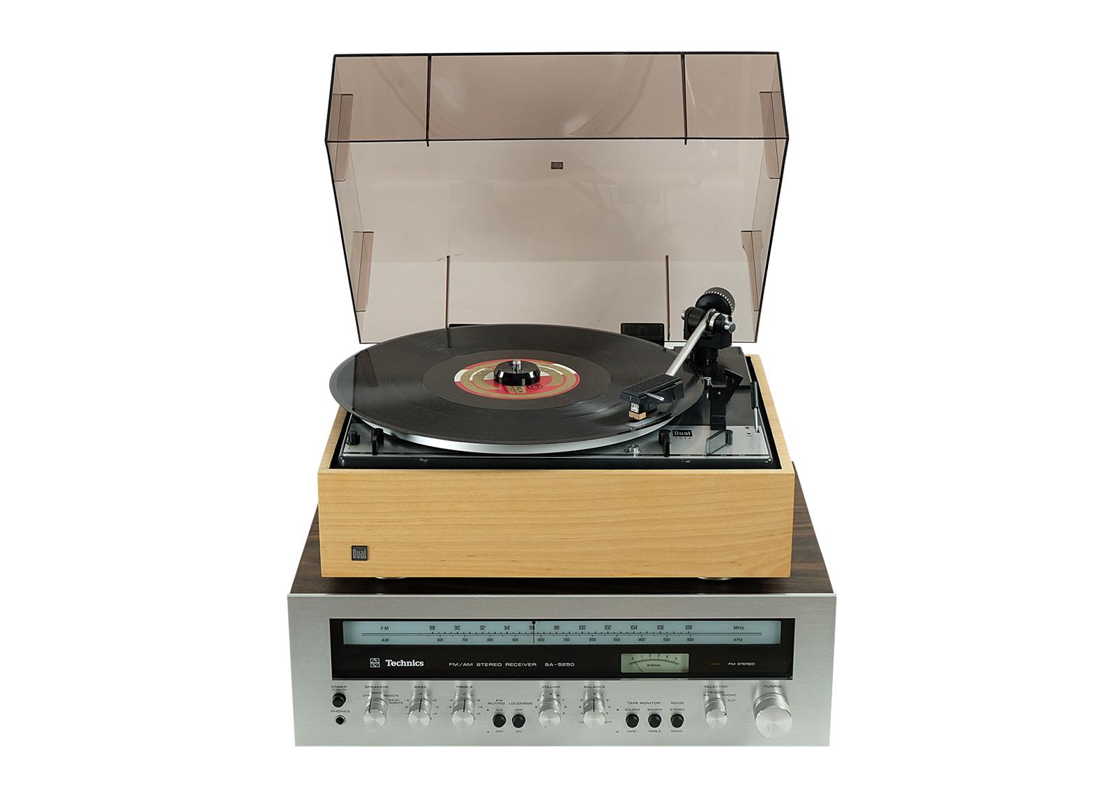 Amplituner Technics SA-5250. Classic Vintage.
