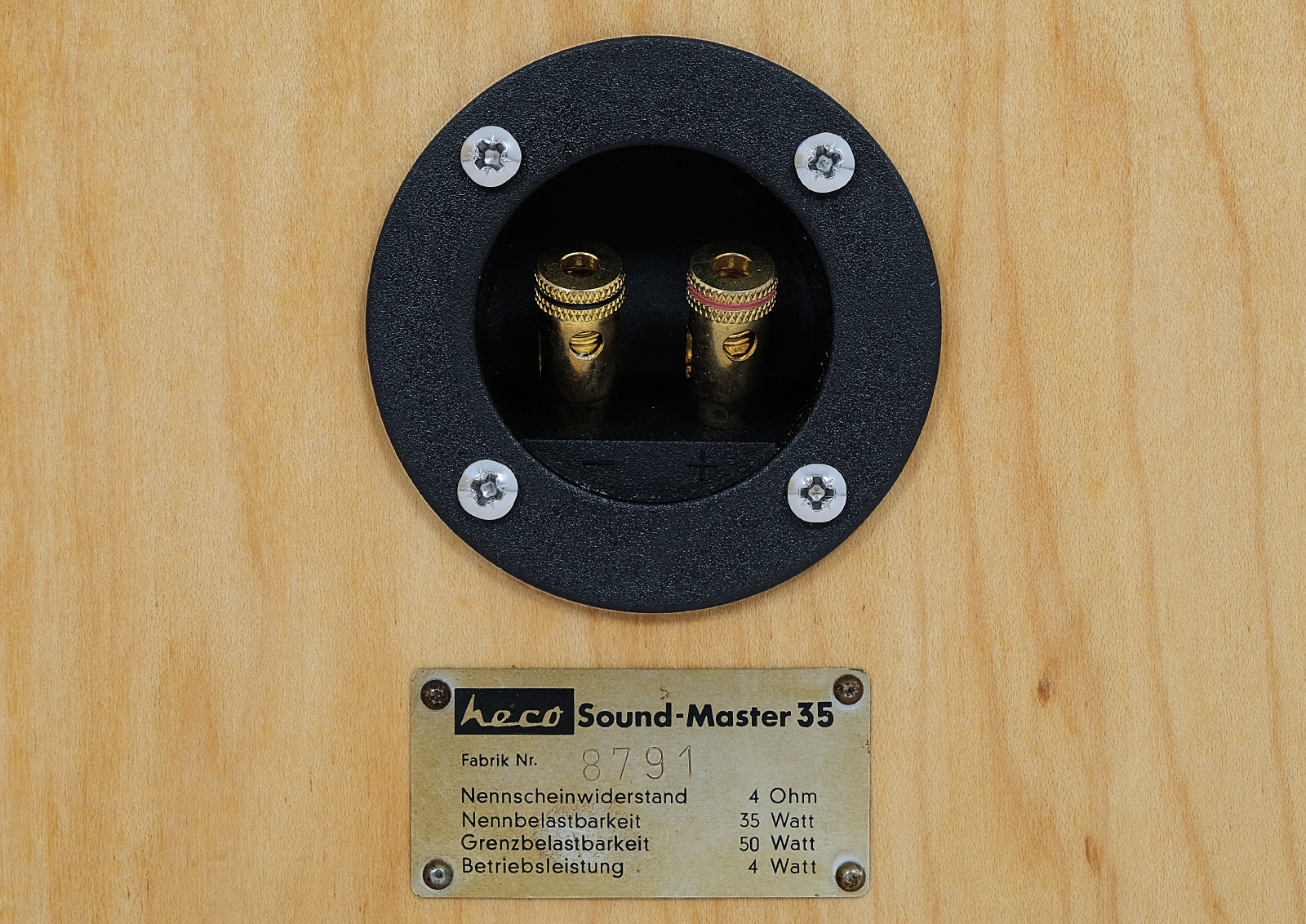 Heco Sound Master 35. HI-FI Stereo. Classic Vintage.