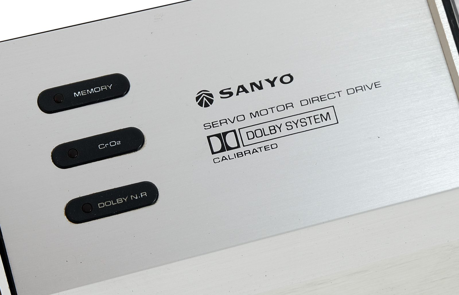 SANYO RD 4600. DOLBY SYSTEM.