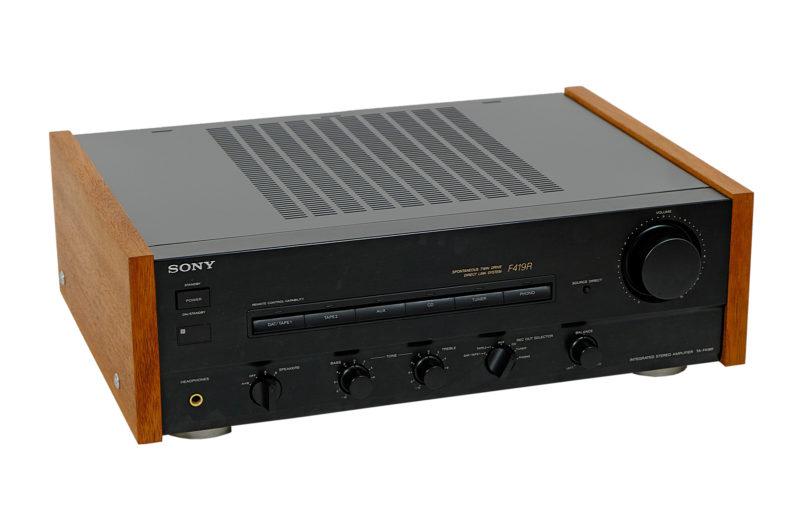 Sony TA-F419R - Tuner Sony ST-S211 - Sony TC-WR690 - Sony SEQ-711 - Sony CDP-211