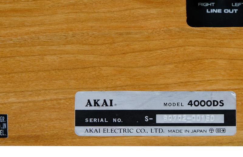 AKAI 4000 DS