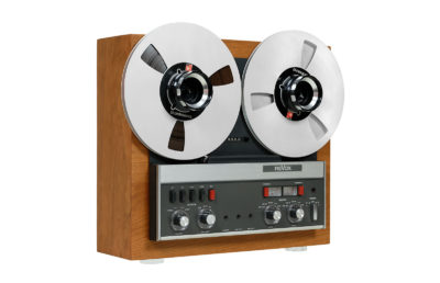 Revox A77 MK III reel-to-reel tape recorder.