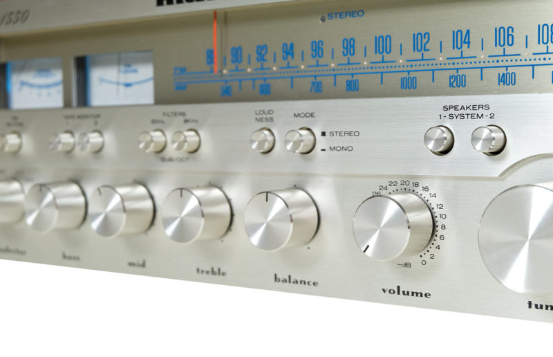 Amplituner Marantz 1550, audio vintage, Marantz 1550