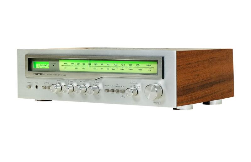 Amplituner Rotel RX 403, audio vintage, Rotel RX 403