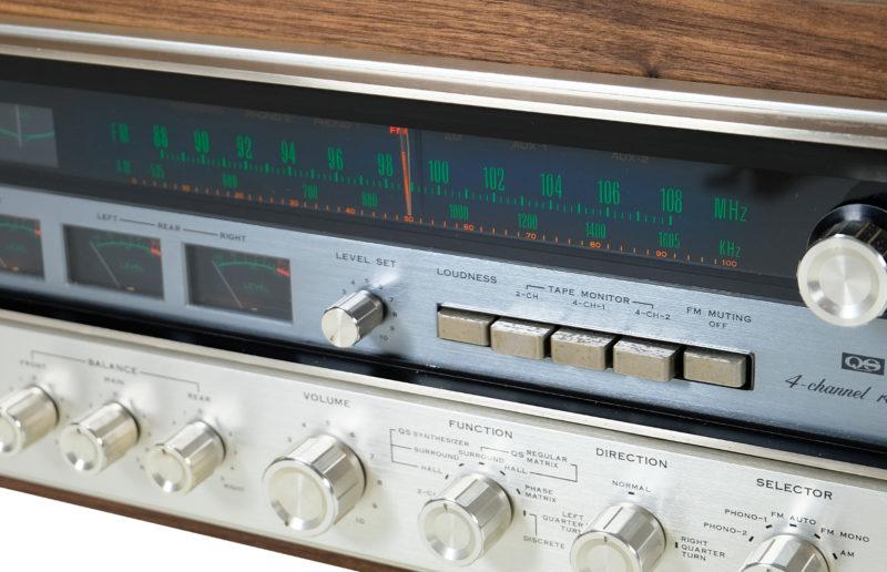 Sansui QRX 5500, Amplituner Sansui QRX 5500