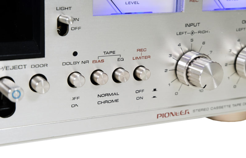 Pioneer CT F 7171, magnetofon vintage