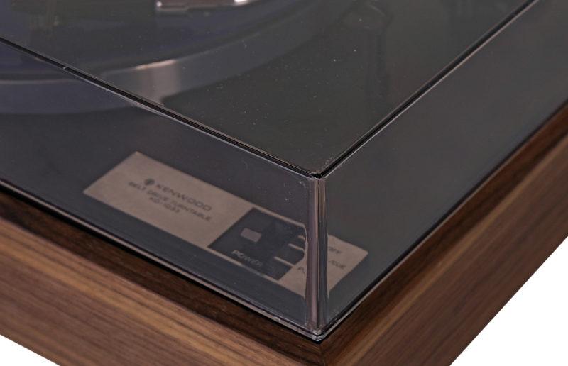 Kenwood KD 1033, gramovon vintage