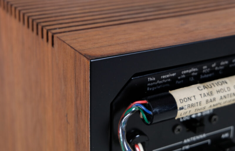 Sansui QRX 3500, audio vintage