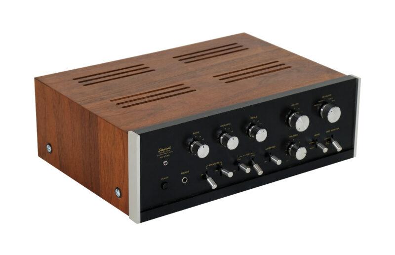 Sansui AU-555A, audio vintage